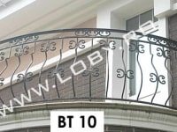 balustrada elemente curbate