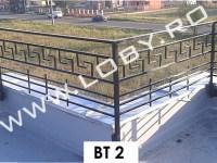 balustrada geometric