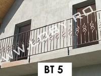 balcon fier forjat model basic