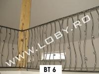 balcon fier forjat model navod