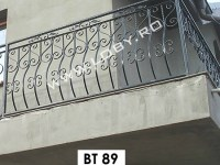 balustrada fier forjat clasica
