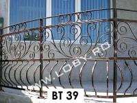 balustrada fier forjat terasa