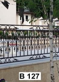 balustrada clasica cu frunze