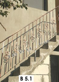 balustrade fier forjat basic 3