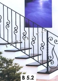 balustrade fier forjat basic 4