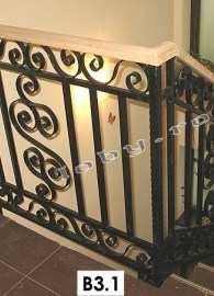 balustrade fier forjat  bird
