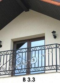 balustrade fier forjat bird 3