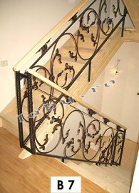 balustrade fier forjat fluture