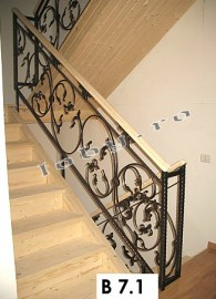balustrade fier forjat fluture 1
