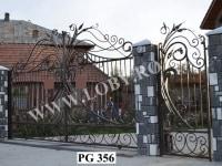 Poarta-fier-forjat-fluture-PG 356
