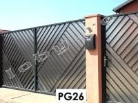 garduri fier forjat perpendicular