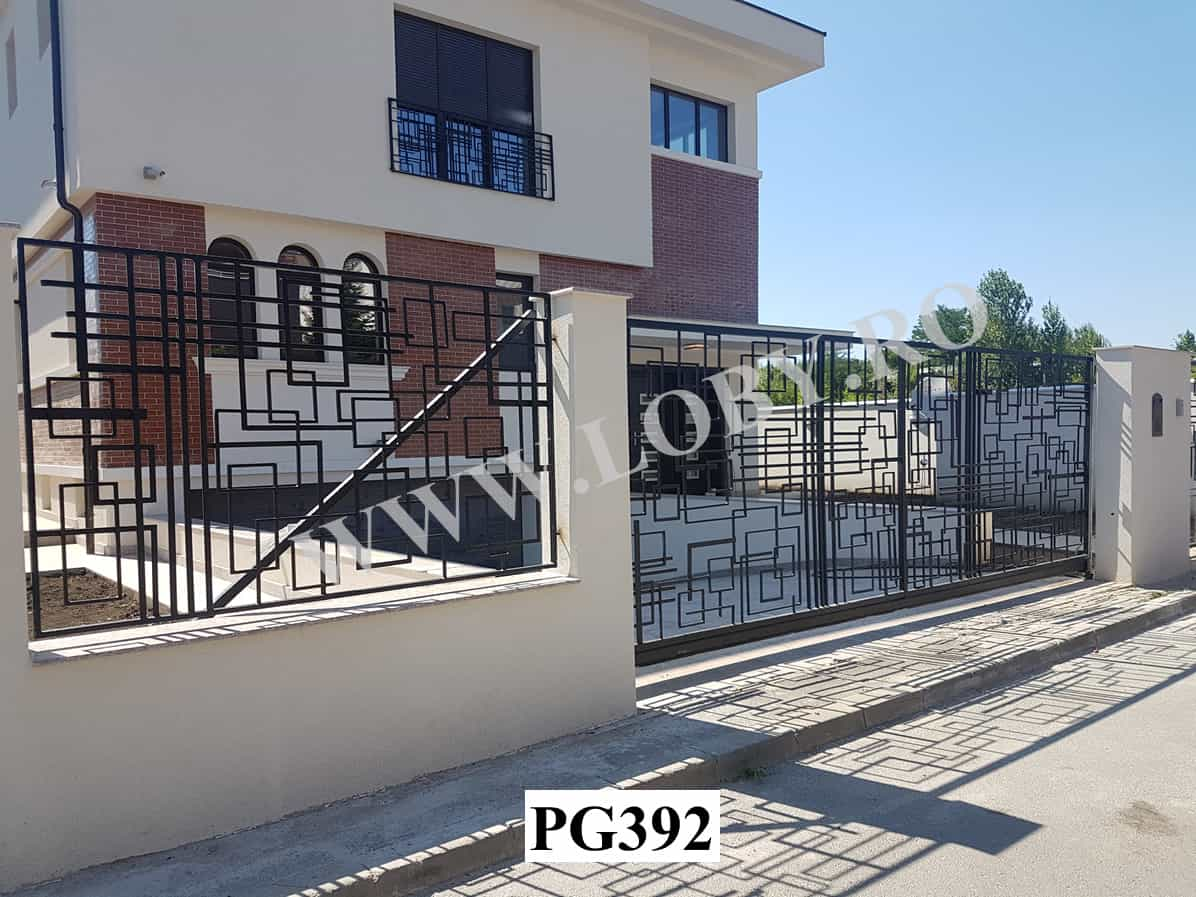 Porti gard balustrade model geometric