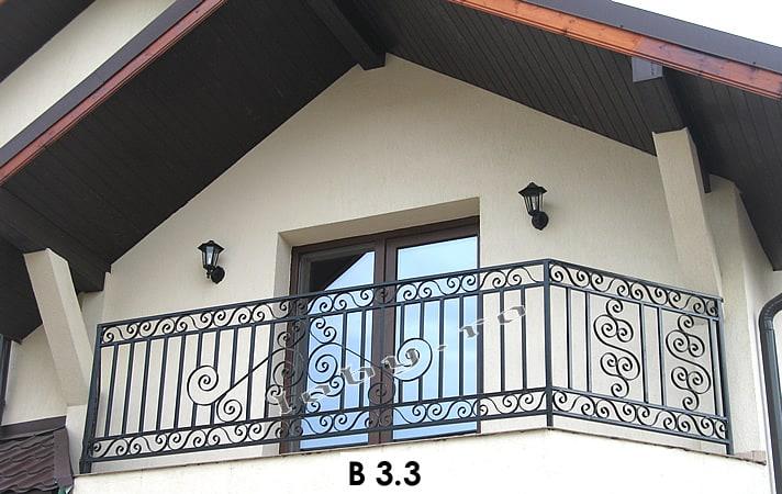 Pret balustrada fier forjat bird 3