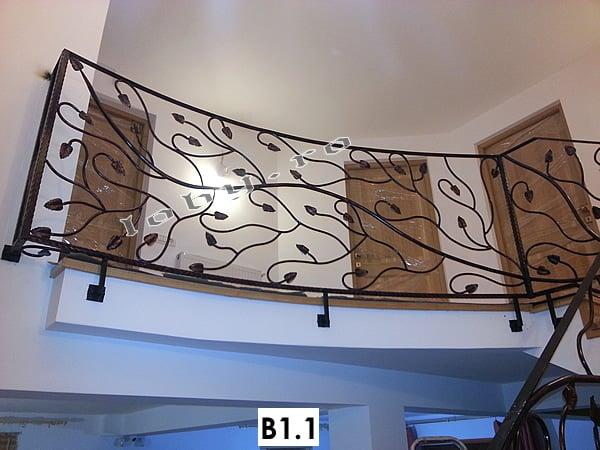 Pret Balustrada fier forjat Creanga_1