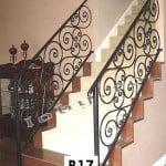 Pret Balustrada fier Ionic