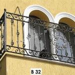 Pret Balustrada fier forjat Solar