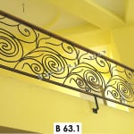 Pret Balustrada fier forjat Wave 1