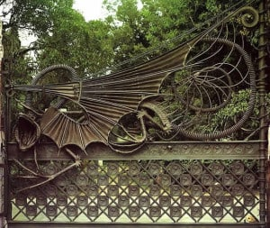 Antoni Gaudi fier forjat 1