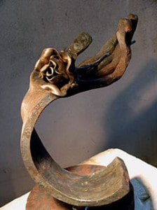 Pangolini fier forjat shiatsu