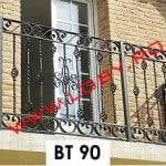 Pret-balustrada-balcon_fier_forjat_cu_multi_bulbi
