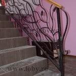 Inceput de balustrada cu lebada medie