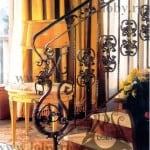 Balustrada fier forjat inceput dragon
