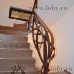 Inceput balustrada fier moderna