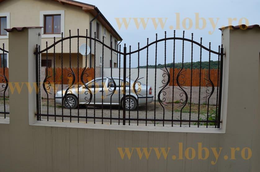 Gard fier forjat model semiluna