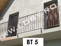 balcon fier forjat model basic