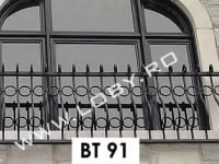 balustrada fier forjat fereastra