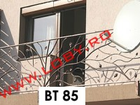 balustrada fier forjat natural