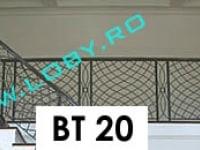 balustrada fier forjat dune