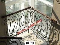 balustrada fier forjat intors