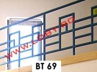 balustrada fier forjat geometrica