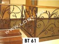 balustrada fier forjat buchet