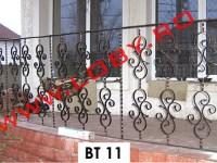balustrada fier forjat gemeni