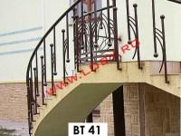 balustrada fier forjat stil