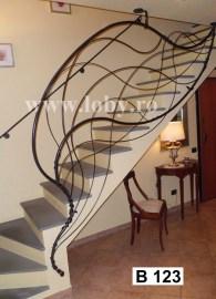 balustrada decor perete