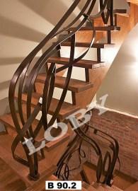 balustrada scara fier suprarealista 2