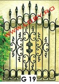 grilaj fier forjat ornamental