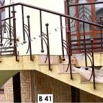 Pret Balustrada fier forjat Stil
