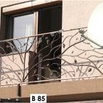 Pret Balustrada fier forjat Natural