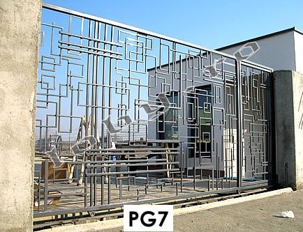 Pret porti fier model Geometric