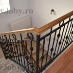 Inbinare lemn pentru balustrada