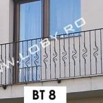 Pret balustrada balcon model natural