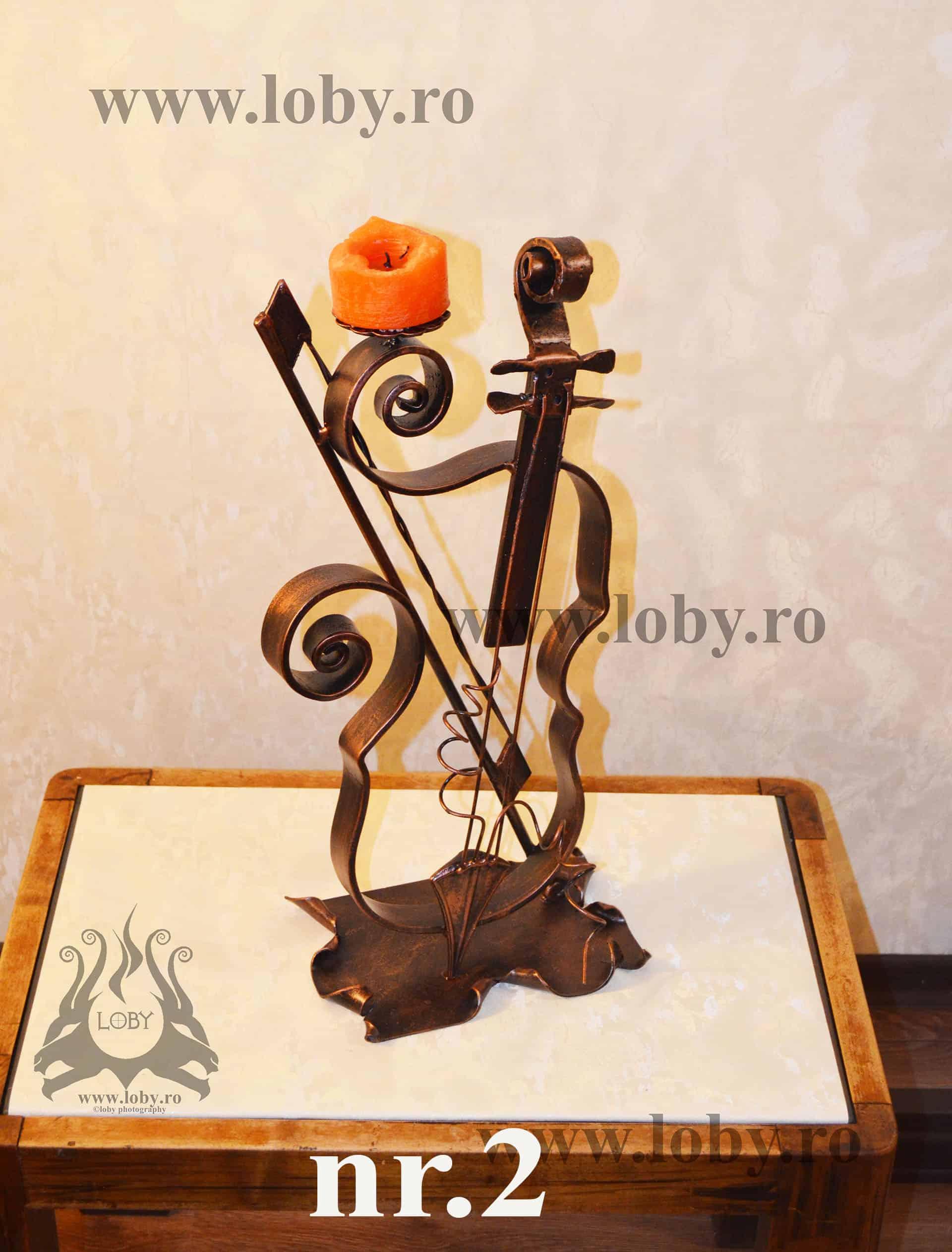 Sfesnic fier forjat vioara