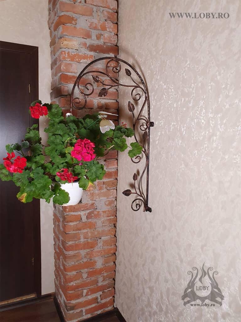 Suport de perete floare